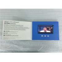 China Promotional  branded card 5'' LCD screen video brochure business card printing card for marketing communications PVC050 on sale