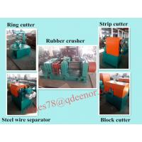 China Crumb Rubber Tyre Recycling Machine/Used Tire Cutting Equipment/Rubber Powder Producing Line on sale