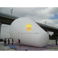 Customized White Giant Advertising Balloons with 170mm tether points for Opening event Manufactures