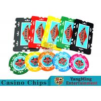 Entertainment ABS Plastic RFID Casino Chips With Custom Logo Dedicated Box Manufactures