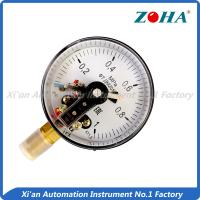 China Corrosion Resistance Electric Contact Pressure Gauge For Controlling Pressure on sale