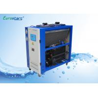 China 8 HP Double Condenser Portable Water Chiller Units Water Cooled Ac Unit 380V on sale
