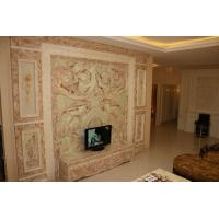 Artificial Onyx Stone Wall , Modern Hotel Artificial Jade Wall Manufactures
