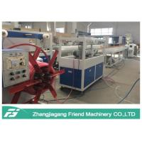 Energy Saving Plastic Pipe Machine Hose Production Line With Single Screw Extruder Manufactures