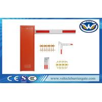 Vehicle Barrier Arm Gate , Security Boom Barriers For Parking Lot Management System Manufactures