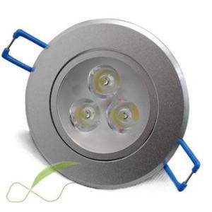 3W  30º  High Lumen led downlight replacement, Aluminum led Ceiling Spot lamp halogen Manufactures
