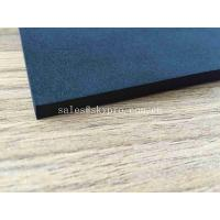 China Open Celled EVA Foam Rubber Insulation Foam Sheet Black Wear Resistant Silicone Sponge Board on sale