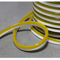 Yellow Colored pvc cover neon flexible strip 220v led neonflex ribbon rope 11x18mm slim waterproof outdoor decoration Manufactures