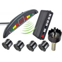 High Accuracy Detection Electromagnetic Reverse Parking Sensor Kit Moon Cresent Digital Display Manufactures