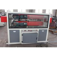 PE Pipe Extrusion Machine , Automatic Pipe Making Machine Of Haul Off Manufactures