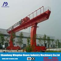 China China Made Remote Pendent Cabin Control Crane Easy Operate Single Girder Gantry Crane 0.5ton to 20ton with Limit Switch on sale