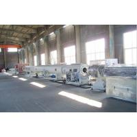 Large Diameter Gas / Water Supply PE Pipe Production Line 24 Months Warranty Manufactures