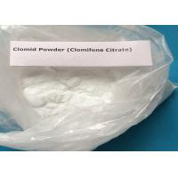 Anti-Estrogen Steroid Powder Clomifene Citrate for Anti-Cancer CAS 50-41-9 Manufactures