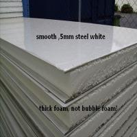 EPS Galvanized Insulated Sandwich Panels , Strong Corrosion Resistant Steel Sheet Manufactures