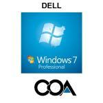 Microsoft Windows 7 Professional OA DELL COA Sticker Manufactures