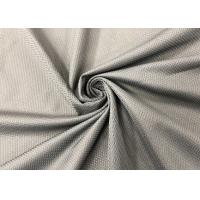 China 130GSM Breathable Polyester Mesh Fabric for Shoes Sneakers Grey Color on sale