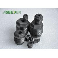Petroleum Industry Tungsten Carbide Thread Nozzle For PDC Drill Bit Manufactures