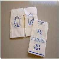 Matt Plastic Film Glove Packaging Bags Manufactures