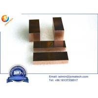 China WCu alloy Copper Tungsten Sheet Meet Astm B702 Standards For Edm Electrode on sale