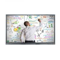 4K Wall Mount IR Multi Touch Screen LCD Monitor 32 to 98 Inch Resolution 3840 * 2160 Manufactures