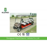 Custom Street Legal Electric Golf Carts With Trojan Acid Battery For Multi Passenger Manufactures