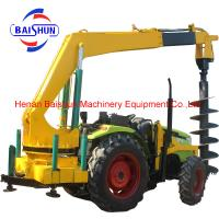 Zhengzhou bottom price tractor mounted cement pole erection machine Manufactures