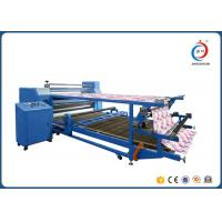 Double Layer Drum Rotary Heat Transfer Press Sublimation Machine For Fabric Manufactures