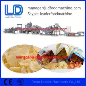 Potato Chips Making Machine , Potato Sticks Process Line Manufactures