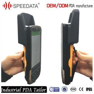 4G Sim Card 900Mhz Handheld Bluetooth UHF RFID Reader ISO1800-6C EPC Gen2 Manufactures