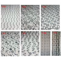 Flocking window finished curtain on hot sell Manufactures