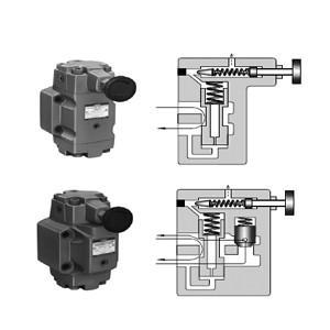 China Yuken RT/RG/RCT/RCG Series Pressure Control Valves on sale
