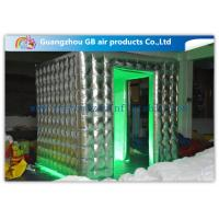 Colorful Fashional Photo Booth Led Lights Inflatable Oxford Cloth Waterproof Manufactures