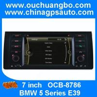 Automobile gps systems for BMW 5 Series E39 with iPod bluetooth radio CD player OCB-8786 Manufactures