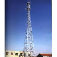 Telecommunication Towers , Cell Phone Towers Hot-dip-galvanized Lattice Towers Manufactures
