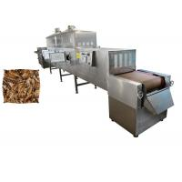 China Tunnel Continuous Black Soldier Fly Larvae Microwave Drying Machine High Efficiency on sale