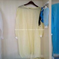 Ly Nonwoven Isolation Gown with Knitted Cuffs Manufactures