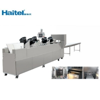 China Fully Auto Cereal Caramel Bar Cutting Forming Machine 300kg/h 600kg/h on sale