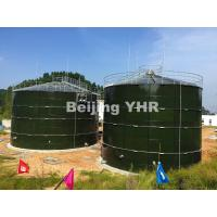 China Durable Chemical Storage Tanks , Glass Lined Steel Tanks Gas / Liquid Impermeable on sale