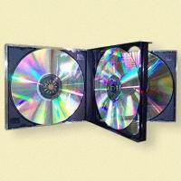 Quality Multi-4 CD Jewel Cases, Available in Different Colors for sale