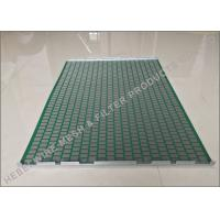 Professional Shale Shaker Screen Light Weight SS304 / SS316 Raw Material Manufactures