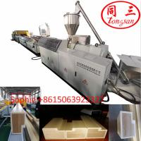 Hegu wpc profile extrusion line concrete door frame making machine for wpc door frame Manufactures