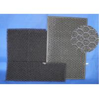 High Air Flow  Activated Carbon Mesh ,  Low Resistance Home Charcoal Filter Manufactures