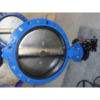 ISO & CE certificate GG25 / GGG40 Single Flanged Butterfly Valve for Waterworks Purpose Manufactures