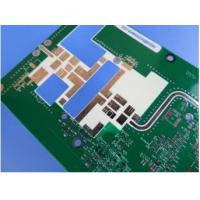 China High Frequency Double Sided Circuit Board RO4350B Base Material With HASL ROHS Compliant on sale