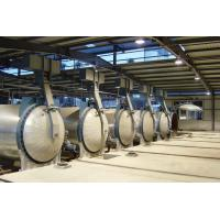 China Industrial Insulated AAC Autoclave With Autoclaved Aerated Concrete Block ASME standard on sale