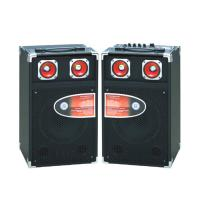 Single Pro Audio Portable Bluetooth PA Speakers With Led Tweeter / SD Card Manufactures
