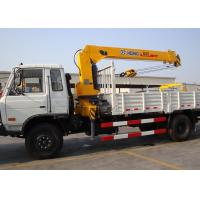 Durable Hydraulic System Telescopic Boom Mobile Crane With 6300kg Manufactures