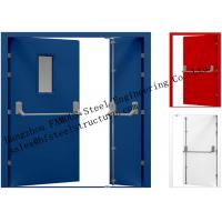 Galvanized Industrial Hollow Steel Fire Doors For Residential Application Manufactures