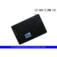 IP68 Waterproof Silicone Keyboard With Integrated Touchpad In USB Interface Manufactures