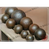 Good Toughness Hot Rolling Steel Balls , 35mm Sag Mill Grinding Ball Manufactures